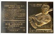 1933 Babe Ruth Goudey 53 Big League Chewing Gum 23k Gold Card 8.95