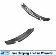 Oem Air Inlet Cowl Panel Grill Pair Lh And Rh Sides For Chevy Express Gmc Savana