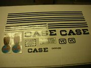 Case Vc Tractor Decal Set - New