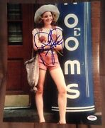 Jodie Foster Signed Autograph Young Taxi Driver Pose 11x14 Photo Psa/dna Y63390