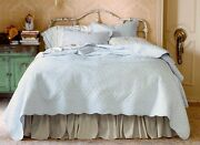 New Simply Shabby Chic Vintage Beach Cottage Coverlet Set Twin Size