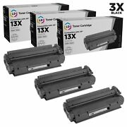 Ld Remanufactured Hp 13x / Q2613x Hy Black Toner 3pk For 1300 1300n And 1300xi