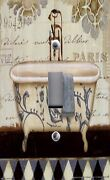Light Switch Plate And Outlet Covers Bathroom Decor French Bath Tub Wash Room