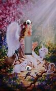 Light Switch Plate And Outlet Covers Girl's Room Angel Spirit