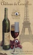 Light Switch Plate And Outlet Covers Paris Eiffel Tower Chateau Wine Grapes