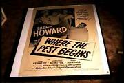 Where The Pest Begins 1945 Orig Movie Poster Shemp Howard 3 Stooges Related