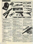 1957 Advert Daisy Bb Gun Air Rifle Red Ryder Scout Cowboy Eagle Scope Kruger