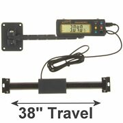Igaging Absolute Dro Digital Readout 38/950mm Read Out Stainless Steel Beam
