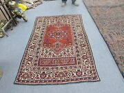 Antique Vintage Russian Caucasian Shirvan Kazak Hand Knotted Wool Rug 3and0399 X 5and0399