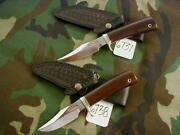 Randall Knife Knives Matched Set Of Stanaback Specials 6738 And 6737