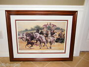 Rescuing The Lipizzaners Don Stivers 228/500 World War Autographed Framed