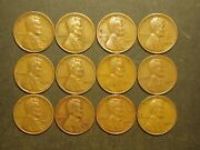 One Roll 1944 Lincoln Wheat Pennies 21