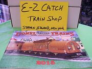 Mth Lionel Corp. Brand New 2015 Tinplate Color Catalog Standard And O Gauge Trains
