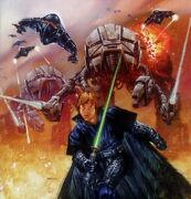 Star Wars - Dark Empire Ii Artist's Proof Litho By Dave Dorman - Signed