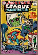 Justice League Of America 33 Dc 1965 Alien-ator Enemy From Timeless World Fnvf