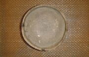 Old Japanese Rough Texture Pottery Ceramic Plate