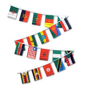 30ft African Country String Flag Africa Set Of 20 Flags 12x18 Pennants
