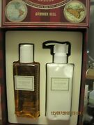Crabtree And Evelyn Summerhill Body Lotion + Shower Gel Set New In Box Summer Hill