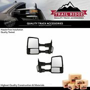 Trail Ridge Towing Mirror Power Heated Memory Signal Textured For Ford Pickup