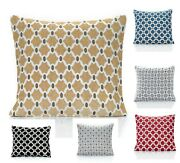 Set Of 4 Berkeley Chenille Cushion Covers 6 Colours 18 And22 Also Filled Cushion