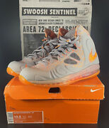 Nike Hyperposite Max All Star Qs Area 72 Hot Lava Size 10.5 China Only Release