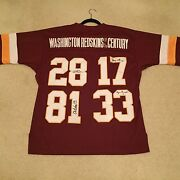 Banned Washington Redskins Of The Century Jersey Large L 50 Very Rare Throwback