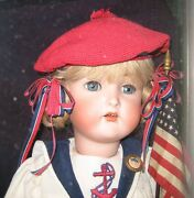 Kr Antique Bisque Doll 24 Wool Sailor Outfit