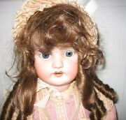 Simon And Halbig Antique Bisque Doll 1079 33