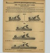 1926 Paper Ad 18 Pg Stanley Bailey Siegley Ovb Tools Plane Planes Bartlett
