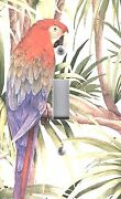Light Switch Plate Outlet Coverstropical Bird Colorful Parrot