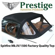 Triumph Spitfire Convertible Top Tops Roof 1971-1980 Mkiv And 1500