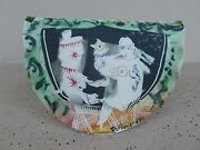 WHIMSICAL FRENCH PORTANIER ART POTTERY SCULPTURE SIGNED AND DATED 1989