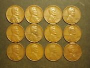 One Roll 1944 Lincoln Wheat Pennies 33