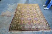 Antique Turkish Anatolian Sivas Hereke Rug Wool Hand Knotted 4and0399 X 6and0397