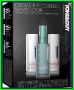 Toni And Guy Casual Collection Brand Nw 3pc Kit Shampoo/ Sea Salt Spray/ Condition