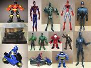 Super Heroes Comic Book Toy Action Figures Super Hero And Villains