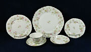 58-pcs Or Less Of Hutschenreuther The Maple Leaf Pat 7578 China/porcelain