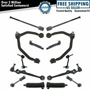 14 Piece Steering And Suspension Kit Lh Rh Set For 93-97 Thunderbird Cougar