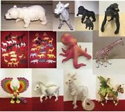 Various Schleich E.l.c Aaa Toy Model Animal Insects Fantasy Figures Pvc Plastic