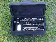 Clarinets-bankruptcy Sale-new Intermediate Concert Band Clarinet-w/ Yamaha Pads