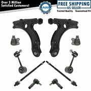 Steering And Suspension Kit Ball Joints Control Arms Inner Outer Tie Rod Sway Link