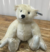 Steiff W Germany 0158/31 Collectors Edition 1985 12 Teddy Bear White Tag As Is