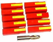 Lot Of 10 New Dura-mill Dr-42 3/4 End Mills Hss 4.286