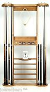 Deluxe Imp Solid Wood - 8 Cue - Wall Mount - Color Options