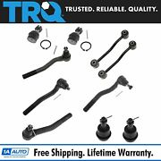 Trq Ball Joint Tie Rod Sway Bar Link Kit Of 10 For 99-04 Grand Cherokee Suv New