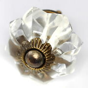 Glass Cabinet Knobs Antique Brass Drawer Pulls And Cupboard Handles K21nrb