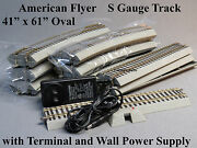Lionel American Flyer S Gauge Fastrack Oval Track Set Flyerchief 41 X 61 New