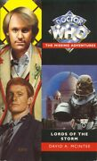 5th Dr Doctor Who Missing Adventures Book - Lords Of The Storm - Mint New