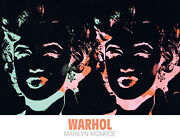 Andy Warhol - Marilyn Special Edition Pop Art Print Monroe Poster 27.5x35.5