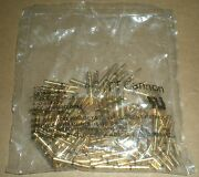 Itt Cannon T3p16fc1lx Contact Female Insert Gold Plated Brass 16 Awg Crimp 100pc